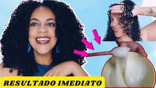 A MELHOR HIDRATAÇÃO CASEIRA PARA CABELOS CACHEADOS/CRESPOS/ LISOS
