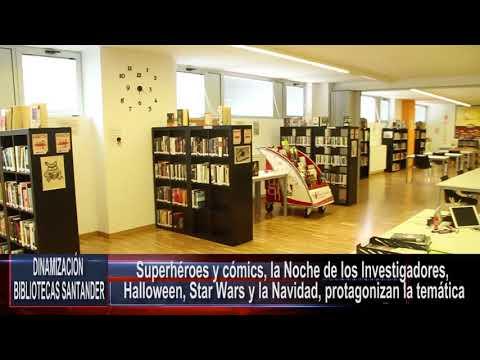Actividades en las bibliotecas municipales (Sept-Dic 17)