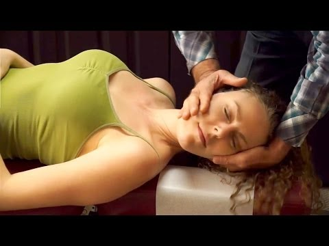 Chiropractic Adjustment for Neck & Back Pain, Headaches, Demo by Austin Chiropractor, Chiro