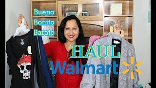 Clothing Walmart Haul and trying on with me!
