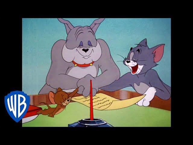 Tom & Jerry   The Peace Treaty   Classic Cartoon   WB Kids