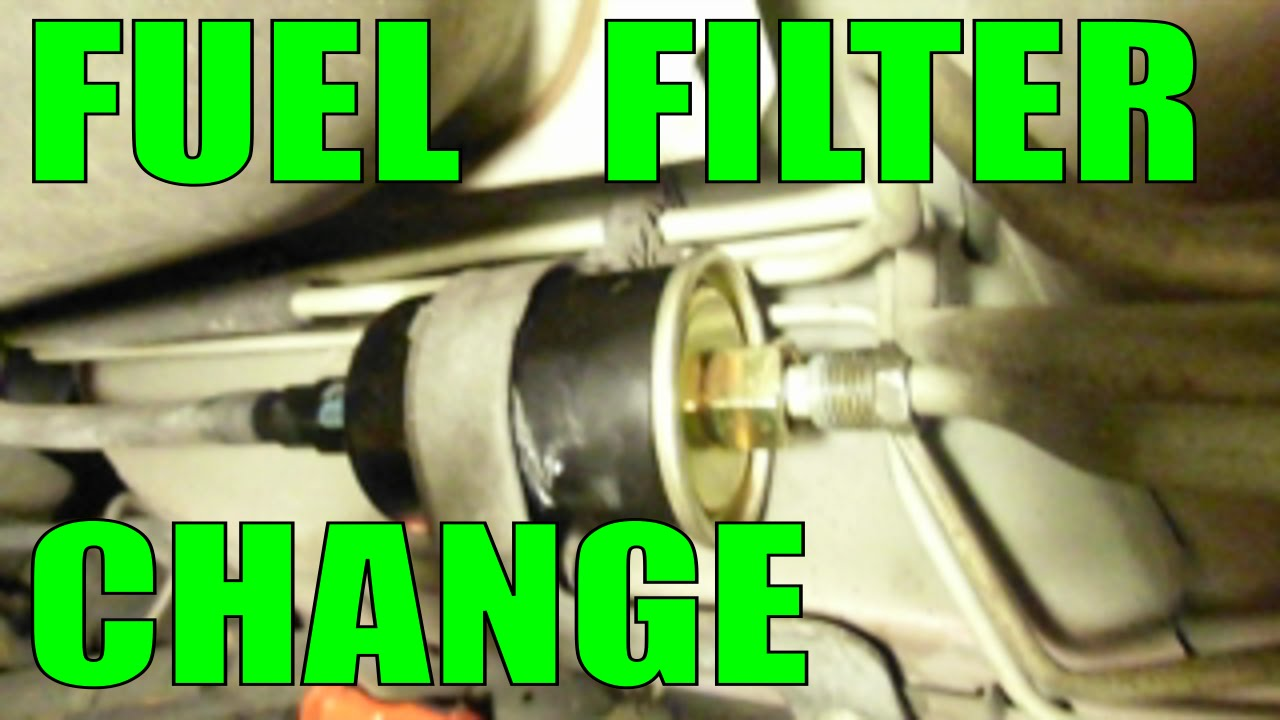 change fuel filter replacement the easy and fast way most cars trucks vans suvs gm youtube [ 1280 x 720 Pixel ]