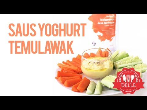 Recipe: Java Turmeric (Temulawak)  Yoghurt Dressing | DELLE KITCHEN
