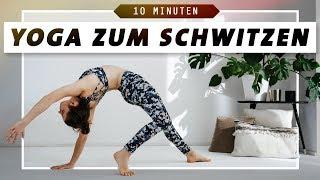 Power Yoga Workout für straffe Arme und eine starke Körpermitte | 10 Minuten zum Schwitzen