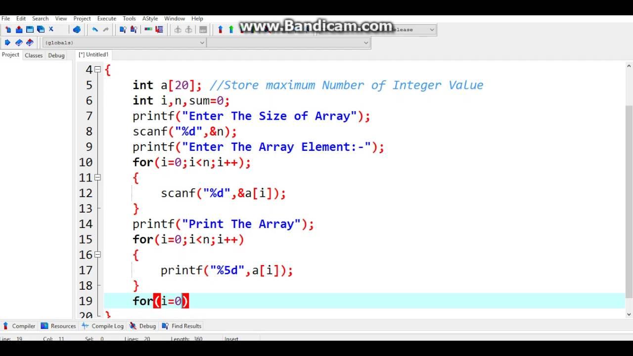 Online C Programming Test - C Programming Test 3