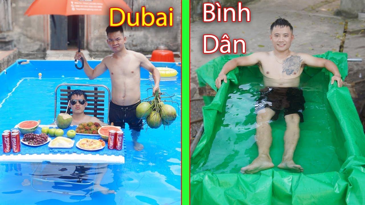 Hưng Troll   Trẻ Trâu Và Bữa Tiệc Bể Bơi Theo Phong Cách Dubai Và Bình Dân