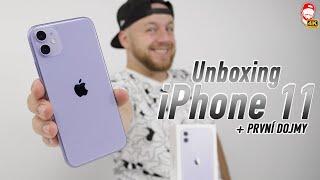 📱Koupil jsem  Apple iPhone 11: Unboxing a První Dojmy | WRTECH [4K]