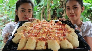 Cooking Pizza with hot dog recipe  Natural life TV