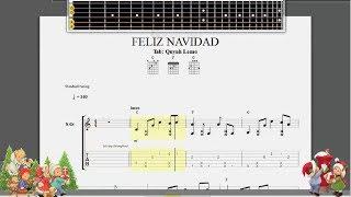 Feliz Navidad | Guitar Fingerstyle (Full tab)