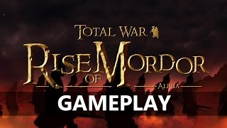 Total War: Rise of Mordor | Gameplay Mod Señor de los Anillos