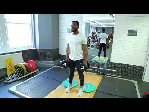 How To Do Dumbbell Hack Squat | Exercise Demo