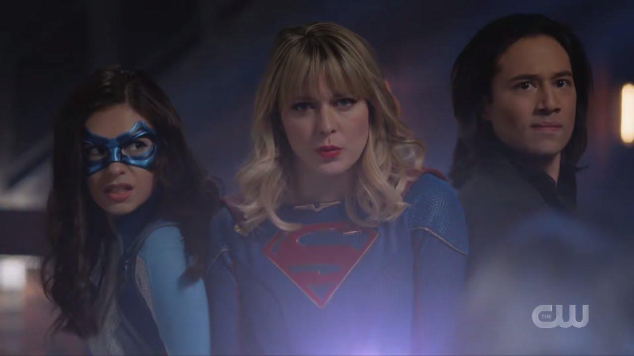 Download SuperGirl 5x10 Kara, Brainy & Nia Nal Bar Fight