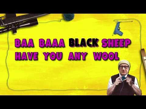 Baa Baaa Black Sheep Motion Poster   Maniesh Paul   Anupam Kher   Manjari Fadnnis