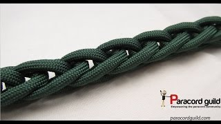 How to finger knit paracord