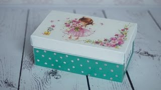 Decoupage Tutorial - Shoe Box