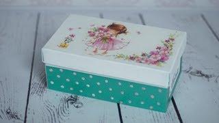 Decoupage Tutorial - Shoe Box