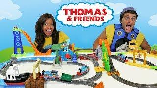 Thomas & Friends TrackMaster Mega City Toy Challenge  ! || Toy Review || Konas2002