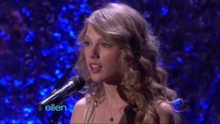"Download Lagu Taylor Swift performs  ""Mean""  on Ellen mp3"
