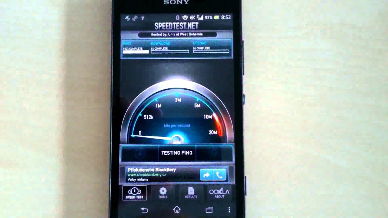 O2 HSPA DC vz O2 LTE on SONY Xperia SP C5303