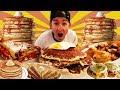 THE MONSTER PANCAKE BREAKFAST CHALLENGE! (12,000+ CALORIES)