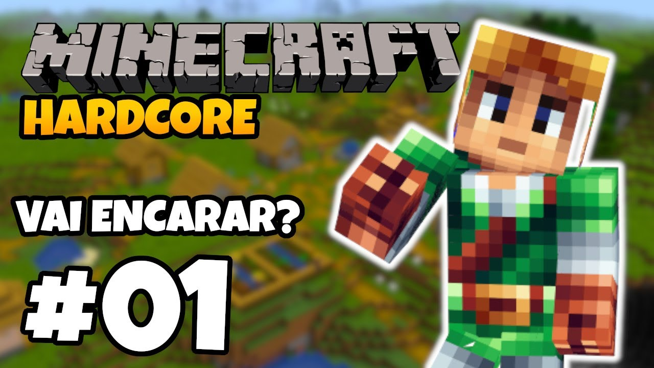 VAMOS FAZER UM TESTE? Minecraft 1.16 HARDCORE SURVIVAL