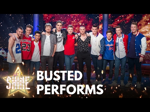 Eight of the boys perform with Busted - Let It Shine - BBC One