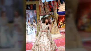 Fabiha sherazi wear kashees bridal bouquet dress 2017