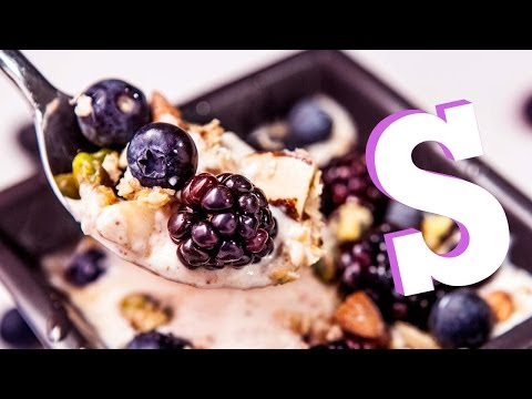 Fruit & Nut Protein Yoghurt Recipe - Made Personal by SORTED