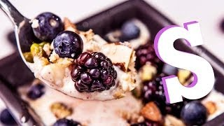 Fruit &amp Nut Protein Yoghurt Recipe - Made Personal by SORTED