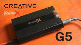 Sound BlasterX G6 7 1 HD Gaming DAC and External USB Sound