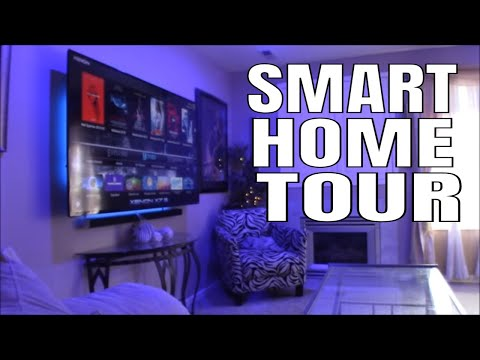 The Most Insane Smart Home Tour Ever : The Ultimate Smart Home Tour