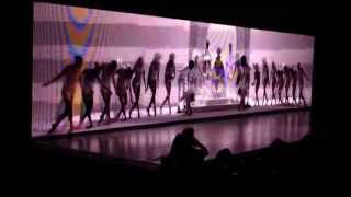 Beyonce Ms Carter Show Tour Auckland concert 16 October - Intro / Run the World (girls)