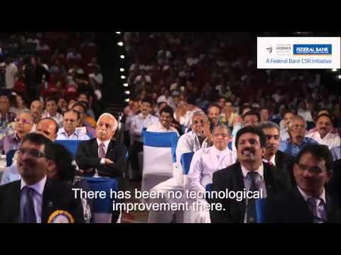 The Dosa Returns! Raghuram Rajan speaks at a Federal Bank event.