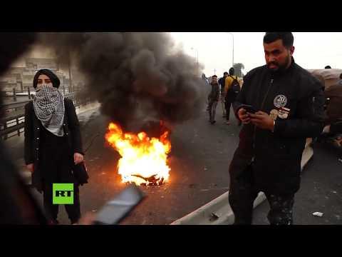 RT en Español: Nuevas manifestaciones contra el Gobierno de Irak
