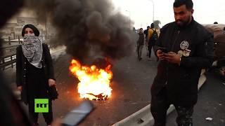 Nuevas manifestaciones contra el Gobierno de Irak