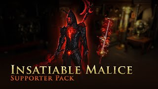Path of Exile: Insatiable Malice Supporter Pack
