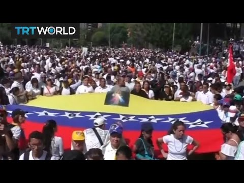 Opposition hold silent march in Venezuela to honour people killed in protests
