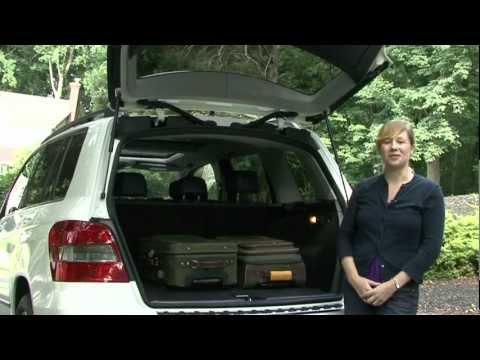 2010 Mercedes GLK - Cargo Capabilities