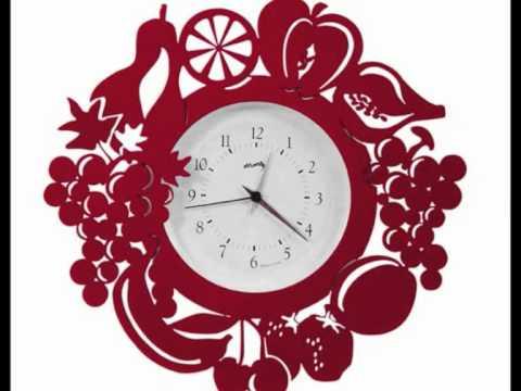 Relojes de cocina ideas para decorar tu hogar youtube - Relojes para cocinas modernas ...