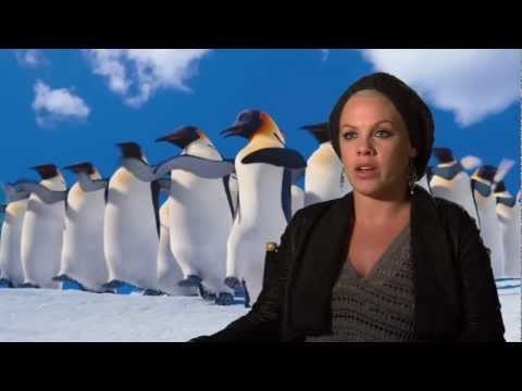 Happy Feet 2: Alecia Moore (Pink!) Interview