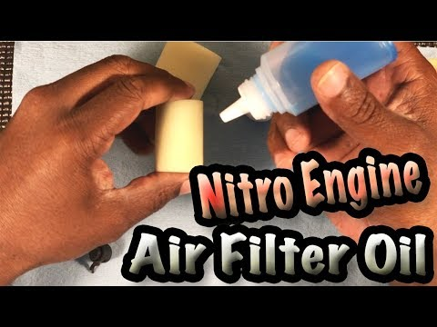 Oiling Your Nitro Engine Air Filter/ Starter Box Adjustment Tips