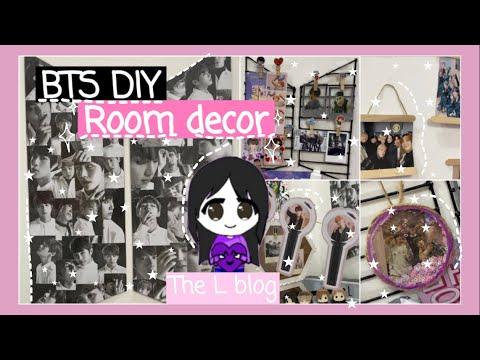 DIY BTS room decor ideas 2020 easy - YouTube on Room Decor Bts id=43958