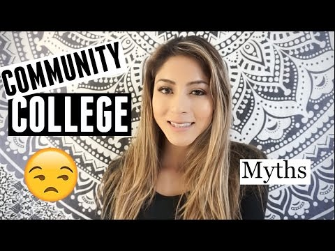 Community College Myths/Tips and Advice