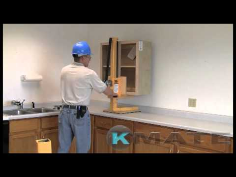 Commercial kitchen cabinet installation by KMate - YouTube