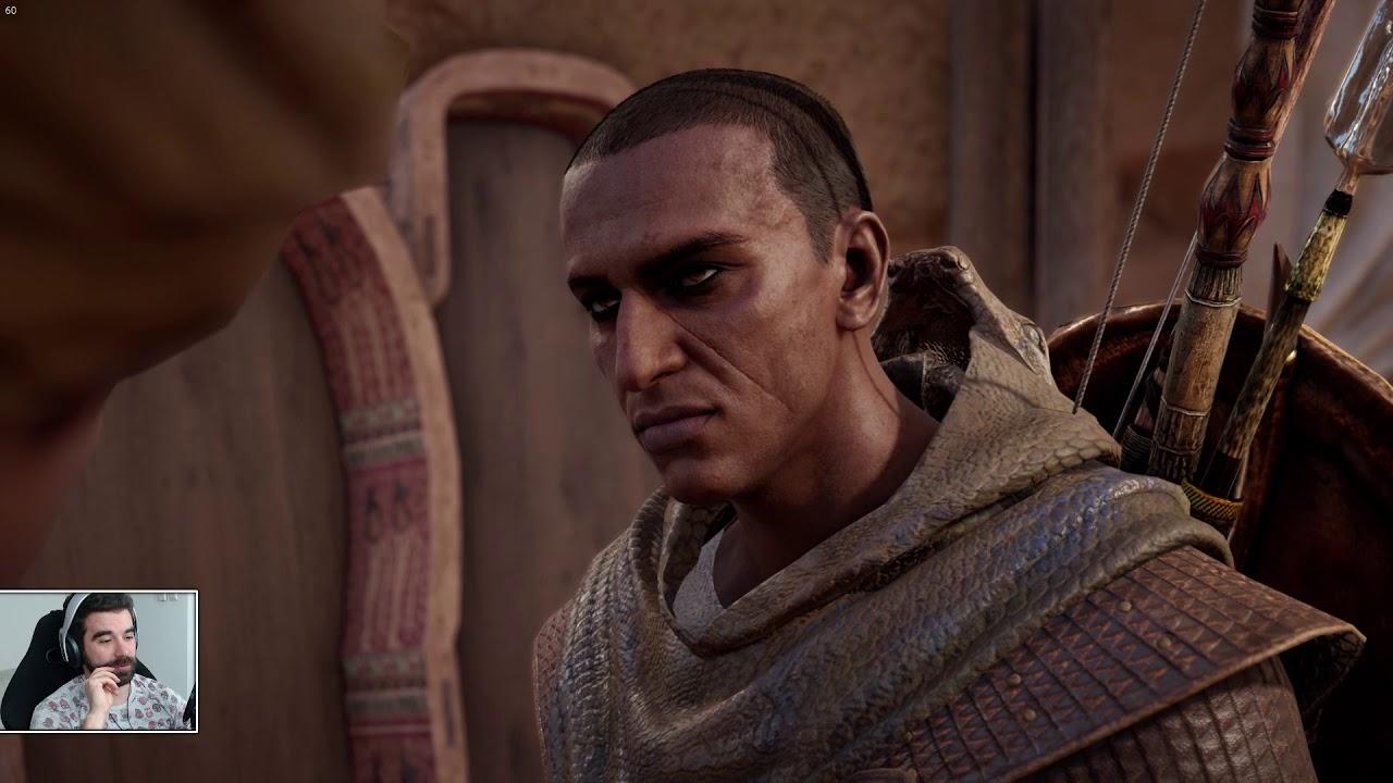 Assassin's Creed Origins #10 – Piramidy, Hiena i KOSMICI [fabuła]