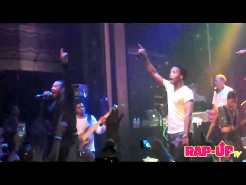 Lupe Fiasco and John Legend Perform 'Never Forget You' Live