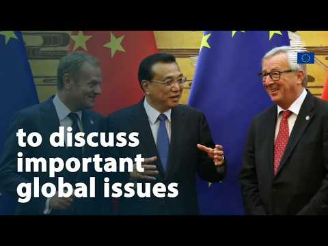 EU - China meet to work together on climate and trade