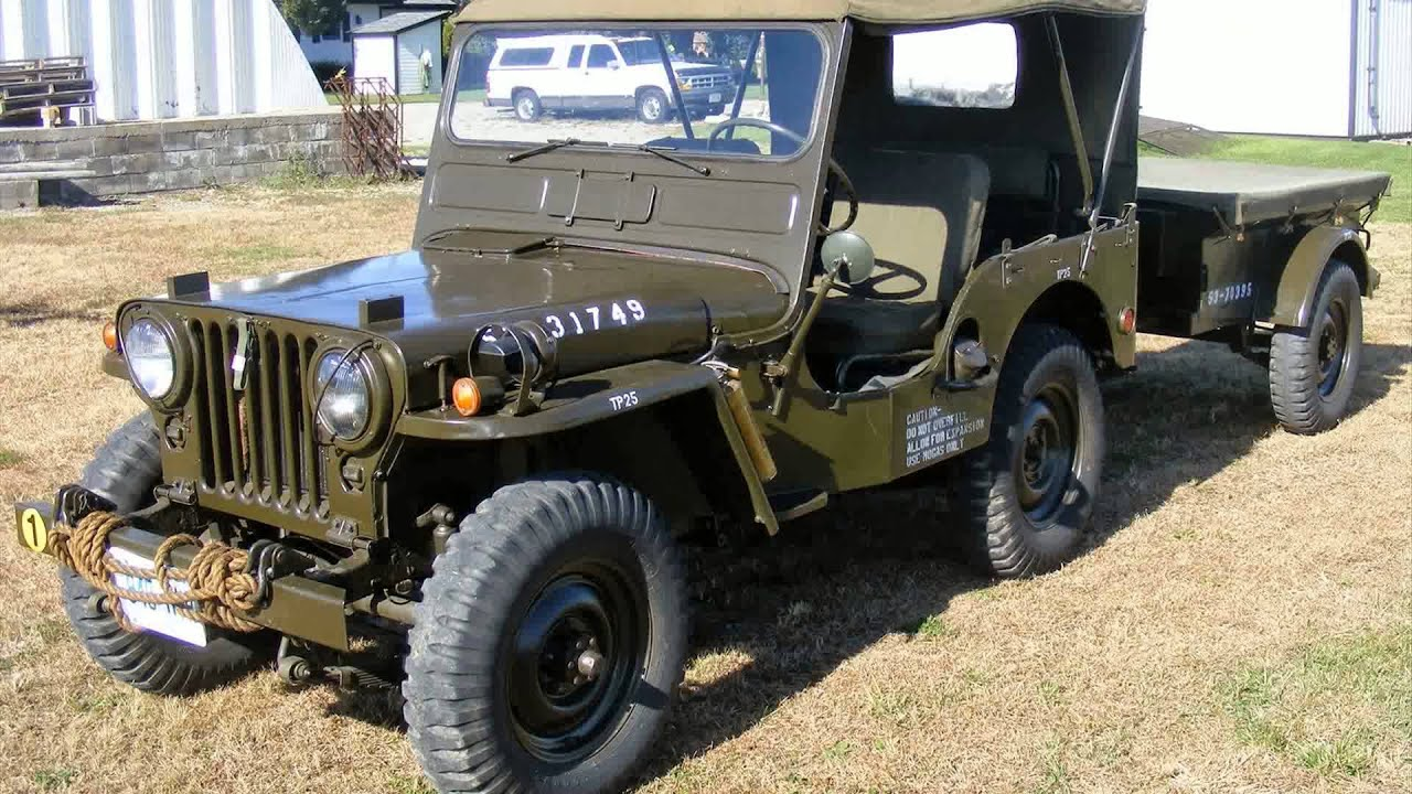 1952 Willys Jeep Youtube
