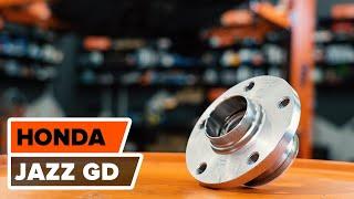 Mantenimiento Honda Jazz gd - vídeo guía