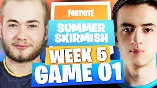 SUMMER SKIRMISH WEEK 5 EU - GAME 1 (Kinstaar Airwaks Hunter)